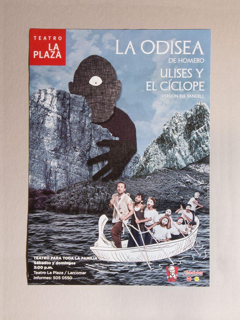 Ulises y el Ciclope poster