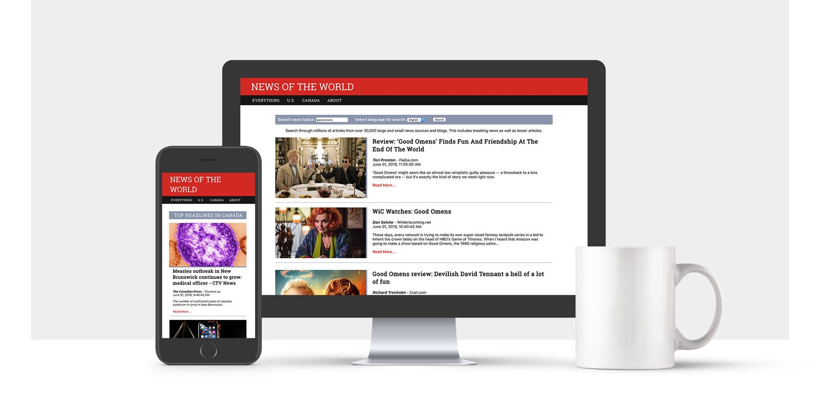 News website full