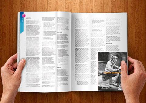 quarter page print ads